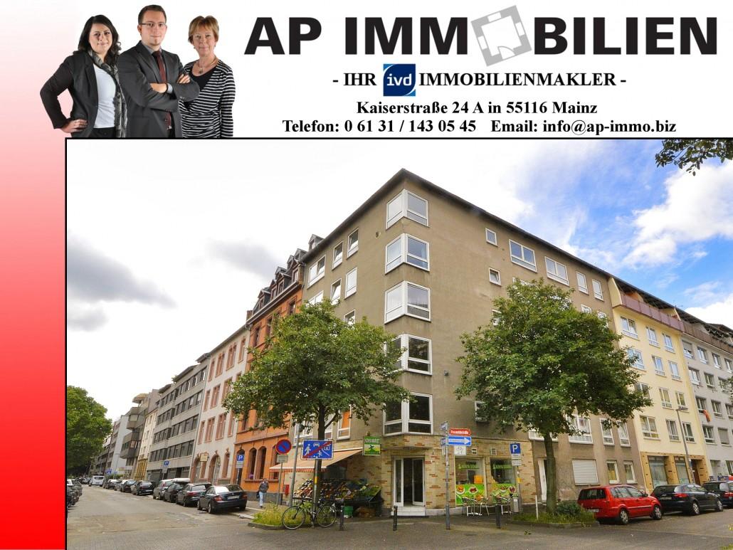 AP Immobilien GmbH - Ihr IVD Immobilienmakler aus Mainz - Neustadt - Kapitalanlage - Wohnung - Gewerbeeinheit