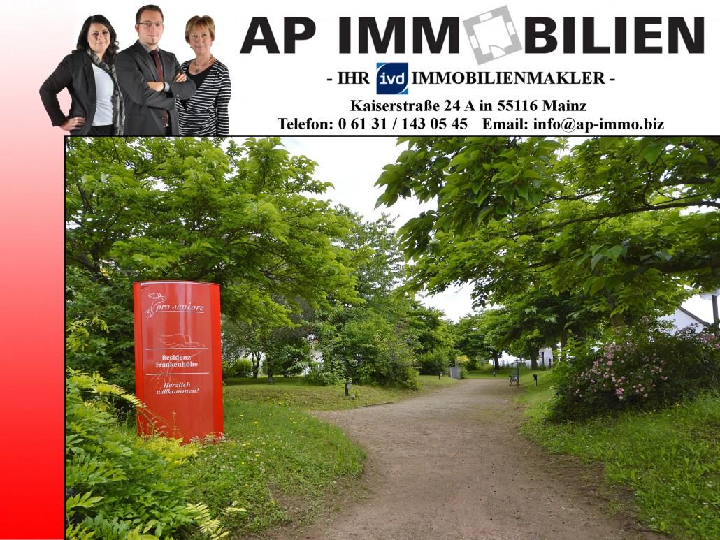 AP Immobilien GmbH - Ihr IVD Immobilienmakler aus Mainz - Eigentumswohnung - Seniorenwohnung