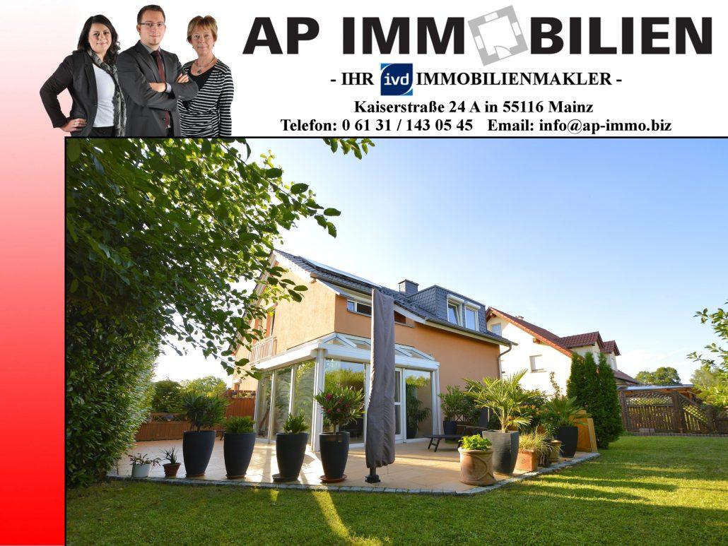 AP Immobilien GmbH - Ihr IVD Immobilienmakler aus Mainz - 55278 Hahnheim, Bahnhofstraße - Einfamilienhaus - Immobilienverkauf