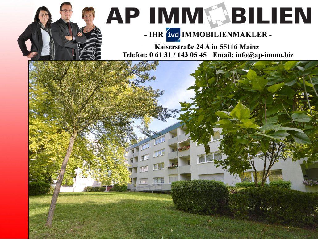 AP Immobilien GmbH - Ihr IVD Immobilienmakler aus Mainz - 55128 Mainz, Südring - Eigentumswohnung - Immobilienverkauf - Immobilienvermietung