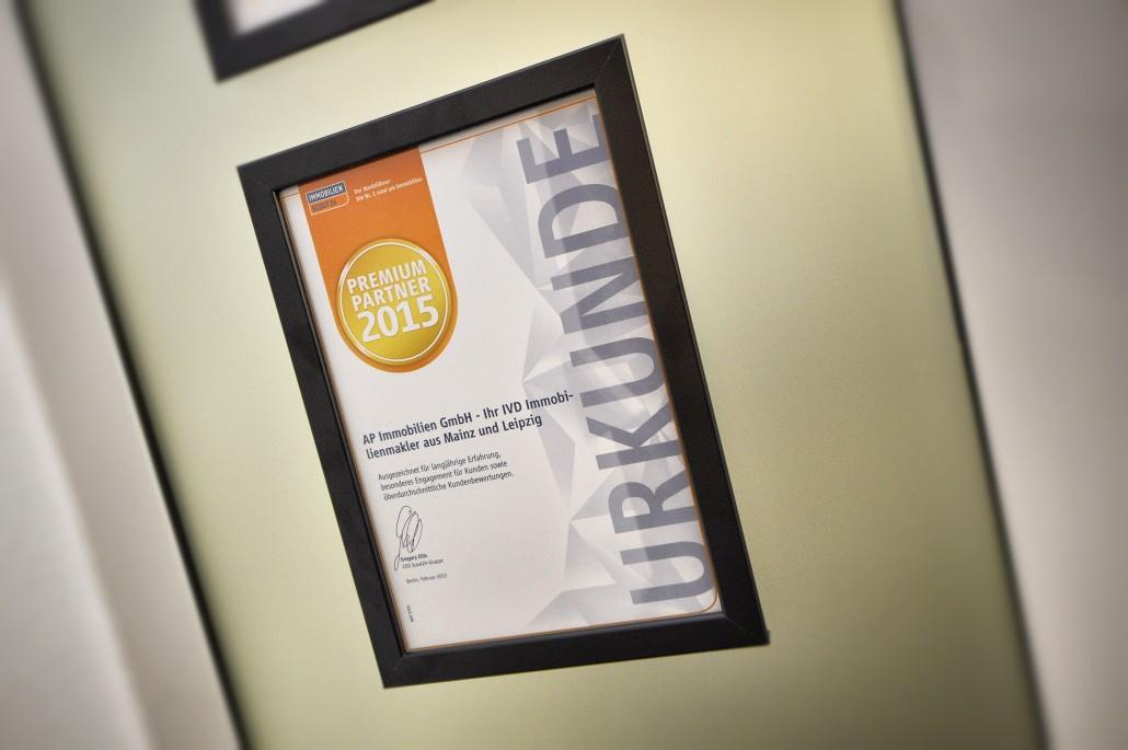 AP Immobilien GmbH - Ihr IVD Immobilienmakler aus Mainz - Immobilienscout24 - Premium Immobilienmakler 2015