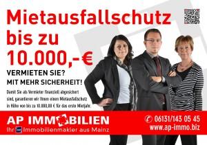 AP Immobilien GmbH - Ihr IVD Immobilienmakler aus Mainz - Mietausfallschutz