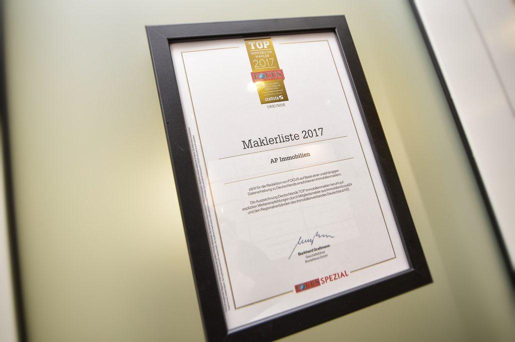AP Immobilien GmbH - Ihr IVD Immobilienmakler aus Mainz - Focus Immobilien Atlas - Top Immobilienmakler 2017