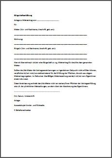 AP Immobilien GmbH - Ihr IVD Immobilienmakler aus Mainz - Bürgschaftserklärung