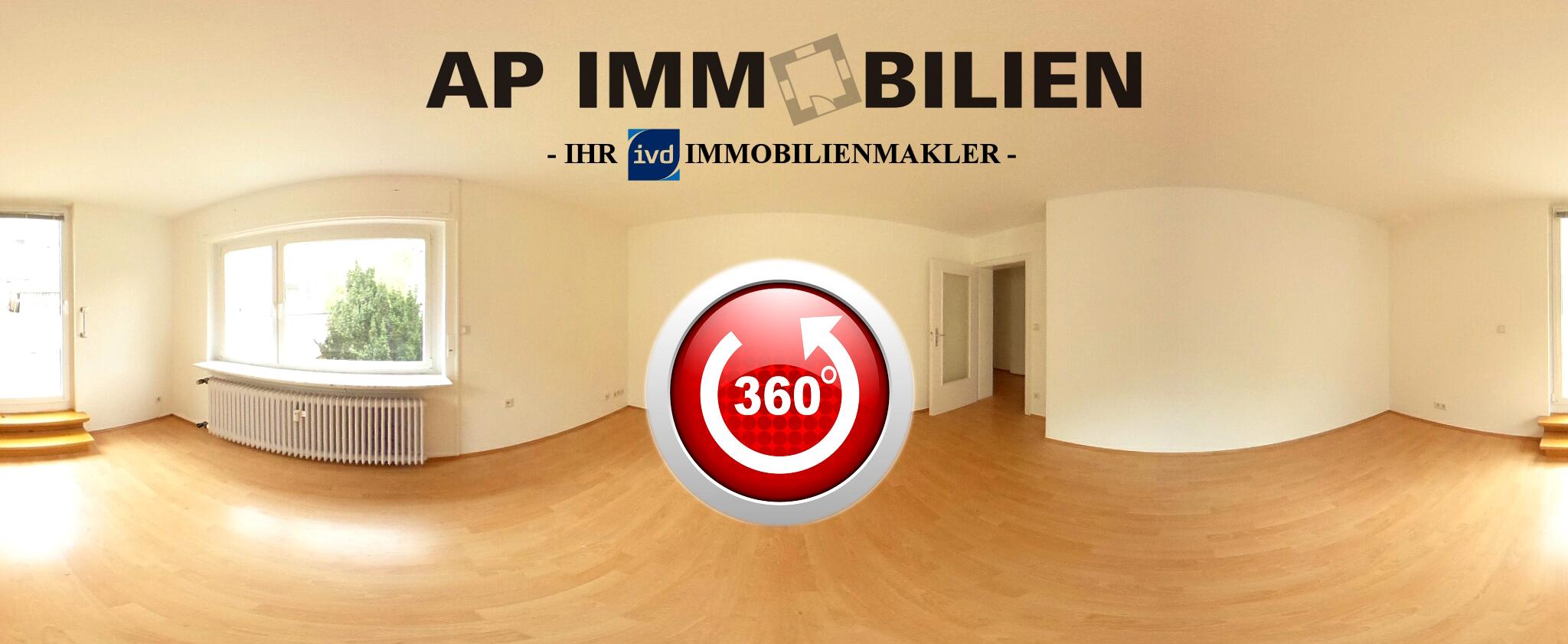 AP Immobilien GmbH - Ihr IVD Immobilienmakler aus Mainz - NEUER SERVICE INKLUSIVE – 360° RUNDGÄNGE