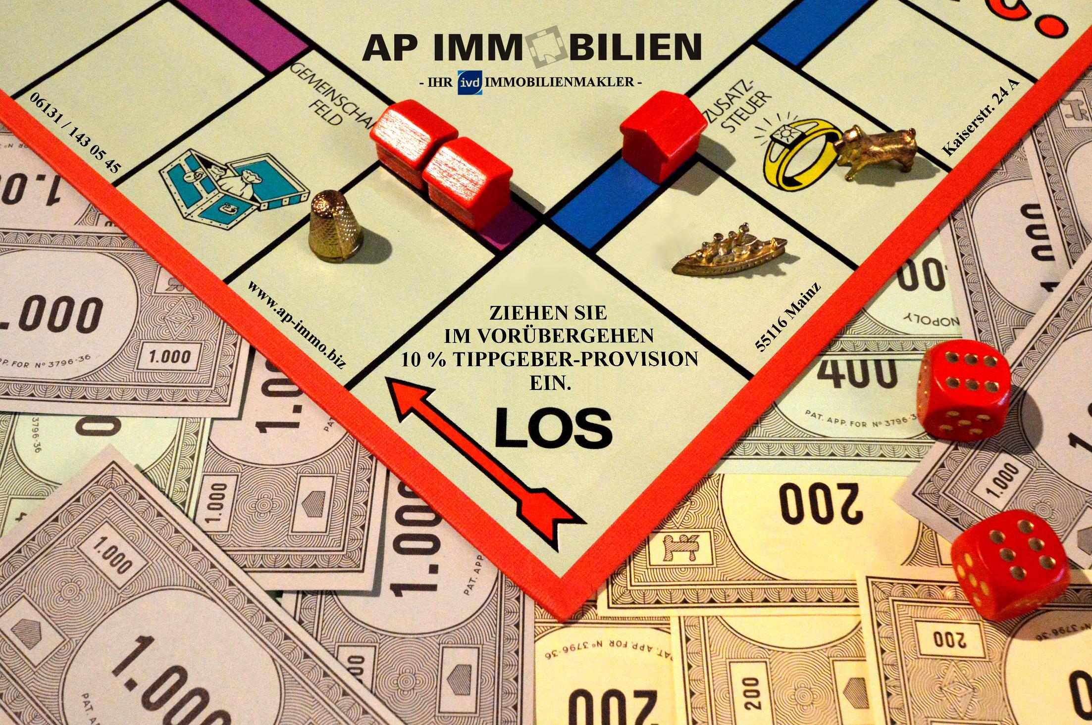 AP Immobilien GmbH - Ihr IVD Immobilienmakler aus Mainz - Tippgeberprovision