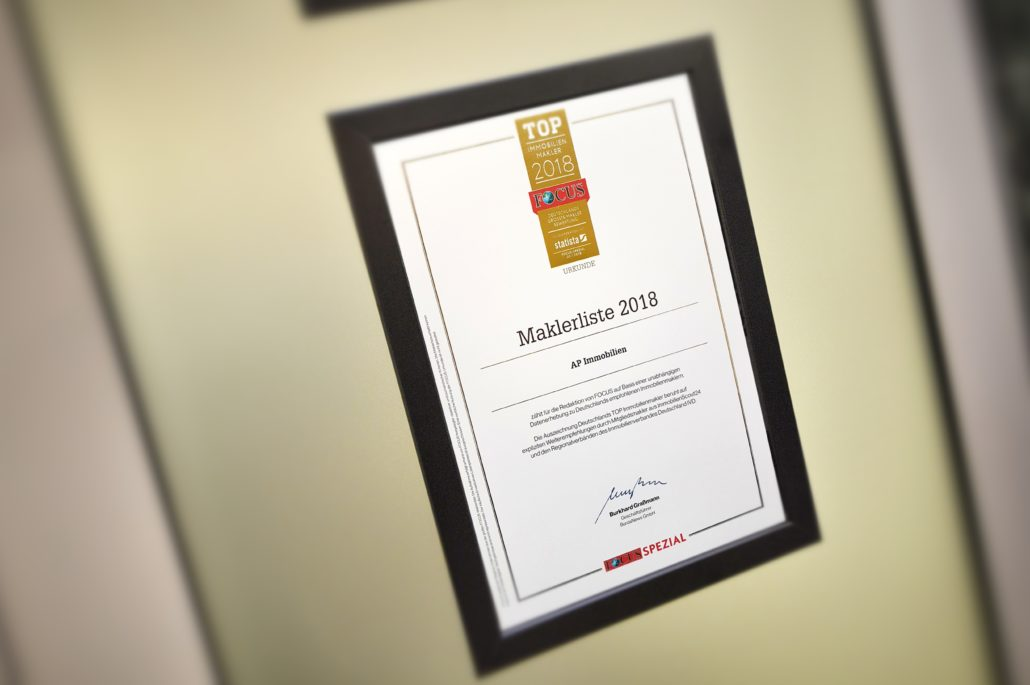 AP Immobilien GmbH - Ihr IVD Immobilienmakler aus Mainz - FOCUS - TOP Immobilienmakler - 2018