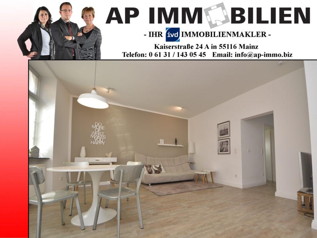 AP Immobilien GmbH - Ihr IVD Immobilienmakler aus Mainz - 55545 Bad Kreuznach - Eigentumswohnung - Immobilienverkauf - Immobilienvermietung