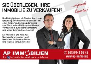 AP Immobilien GmbH - Ihr IVD Immobilienmakler aus Mainz - Immobilienverkauf
