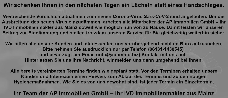 AP Immobilien GmbH - Ihr IVD Immobilienmakler aus Mainz - www.ap-immo.biz